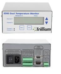 E500 Dual Temperature Monitor
